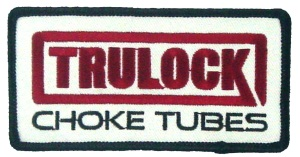 Embroidered Trulock Choke Tubes Patch